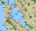 San Francisco Bay - Mapsof.Net Map