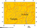 Sangin And Sorubi, Afghanistan - Mapsof.Net Map