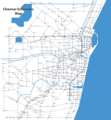 Schematic Map Chennai - Mapsof.Net Map