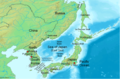 Sea of Japan Map - Mapsof.Net Map