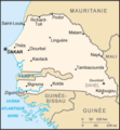 Senegal Carte - Mapsof.net