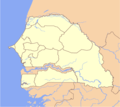Senegal Locator - Mapsof.net