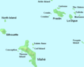 Seychelles Inner Islands - Mapsof.net