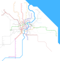 Shanghai Metro Map - Mapsof.Net Map