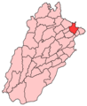 Sialkot District - Mapsof.Net Map