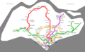 Singapore Metro Map - Mapsof.Net Map