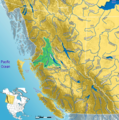 Skeena Watershed - Mapsof.Net Map