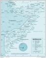 Somalia 1 - Mapsof.Net Map