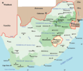 South Africa Political Map - Mapsof.Net Map