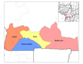 South Cameroon Divisions - Mapsof.Net Map
