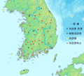 South Korea Meteorological Administration Map - Mapsof.net