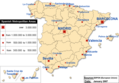 Spanish Metropolitan Areas Map - Mapsof.Net Map