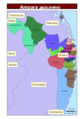 Sri Lanka Ampara District - Mapsof.Net Map