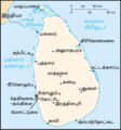 Sri Lanka Map - Mapsof.Net Map