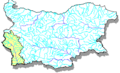 Struma River Watershed, Bulgaria - Mapsof.Net Map