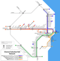 Subway Map of Chennai - Mapsof.Net Map
