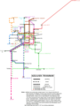 Subway Map of Kolkata - Mapsof.Net Map