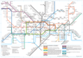 Subway Map of London - Mapsof.Net Map