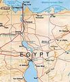 Suez Canal Map - Mapsof.Net Map