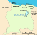 Suriname Map - Mapsof.Net Map