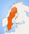 Swedish Language Speakers Map - Mapsof.net
