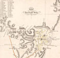 Sydney Districts 1824 - Mapsof.Net Map
