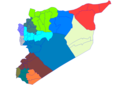 Syria Districts - Mapsof.net