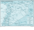 Syrian Arab Republic - Mapsof.Net Map