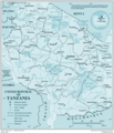 United Republic of Tanzania - Mapsof.net