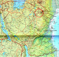 Tanzania Detailed Map - Mapsof.Net Map