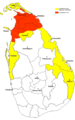 Territorial Control In Sri Lanka 2007 - Mapsof.Net Map