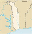 Togo Map Blank - Mapsof.Net Map