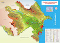 Tourist Destinations Map of Azerbaijan - Mapsof.Net Map