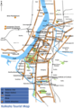 Tourist Map Kolkata - Mapsof.Net Map