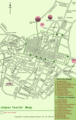 Tourist Map of Jaipur - Mapsof.Net Map