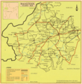 Tourist Map of Rajasthan - Mapsof.Net Map