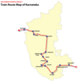 Train Map Karnataka - Mapsof.net