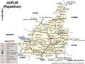 Transport Map of Jaipur - Mapsof.Net Map