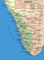 Transport Map of Kerala - Mapsof.Net Map