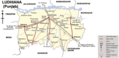 Transport Map of Ludhiana - Mapsof.net