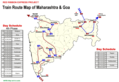 Transport Map of Maharashtra - Mapsof.Net Map