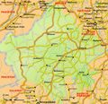 Transport Map of Rajasthan - Mapsof.Net Map