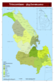 Trincomalee District A3 - Mapsof.Net Map