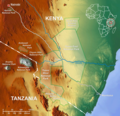 Tsavo National Park Map En - Mapsof.net