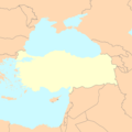 Turkey Map Blank - Mapsof.net