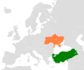 Turkey Ukraine Locator - Mapsof.net
