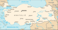 Turkijekaart - Mapsof.Net Map