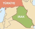 Turkiye Ve Irak Haritasi 1 - Mapsof.Net Map