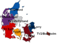 Tv2 Regions - Mapsof.Net Map