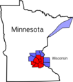 Twin Cities - Mapsof.net